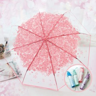 ombrello trasparente newchic