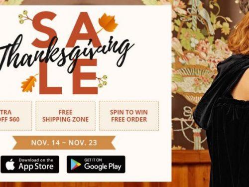 Zaful Thanksgiving Shopping Tips!