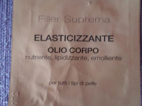 Olio elasticizzante corpo Filler Suprema Euphidra