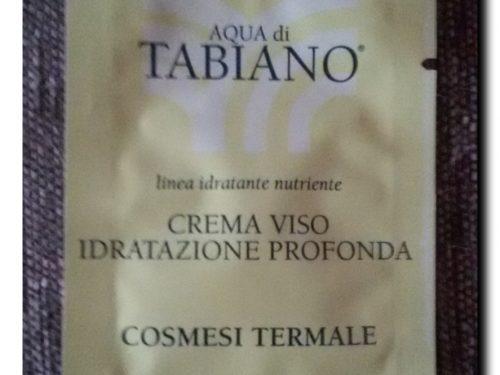 Crema Viso Idratazione Profonda  Aqua di Tabiano