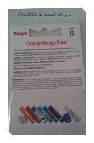 Blistex Orange Mango Blast