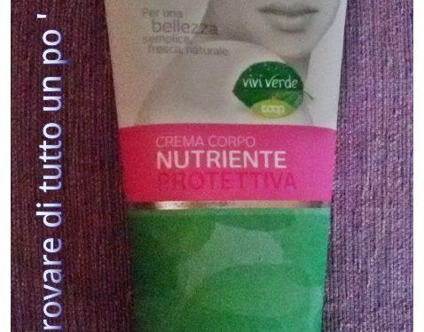 Crema corpo nutriente protettiva Vivi Verde Coop