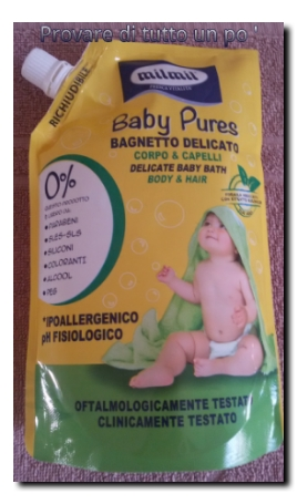 Mil Mil Baby Pures Bagnetto delicato