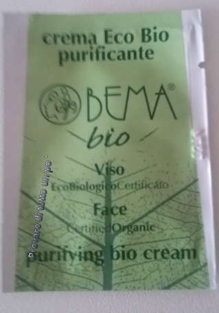 Crema Eco Bio purificante BEMA