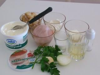 ingredienti straccetti pollo funghi e mascarpone