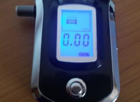 Etilometro con sensore VicTop