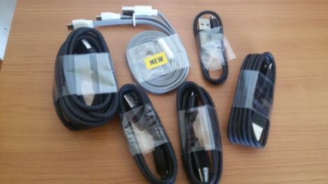 set cavi micro usb