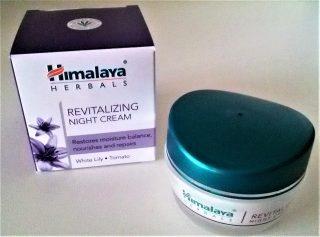 crema rivitalizante notte himalaya herbals