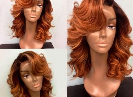 Lace front wig by Dresslily