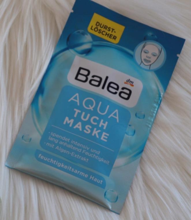 maschera in tessuto Aqua di Balea
