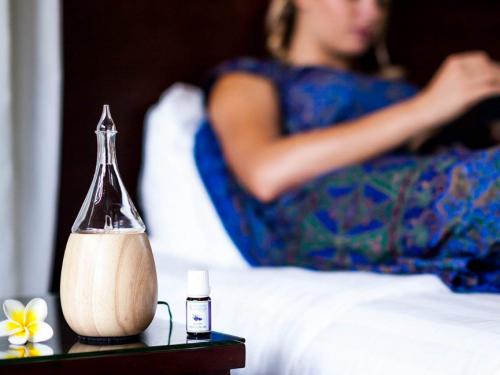 Aromaterapia con i diffusori di oli essenziali Organic Aromas