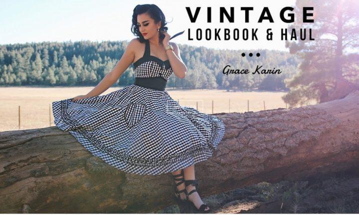 abiti stile vintage, grace karin