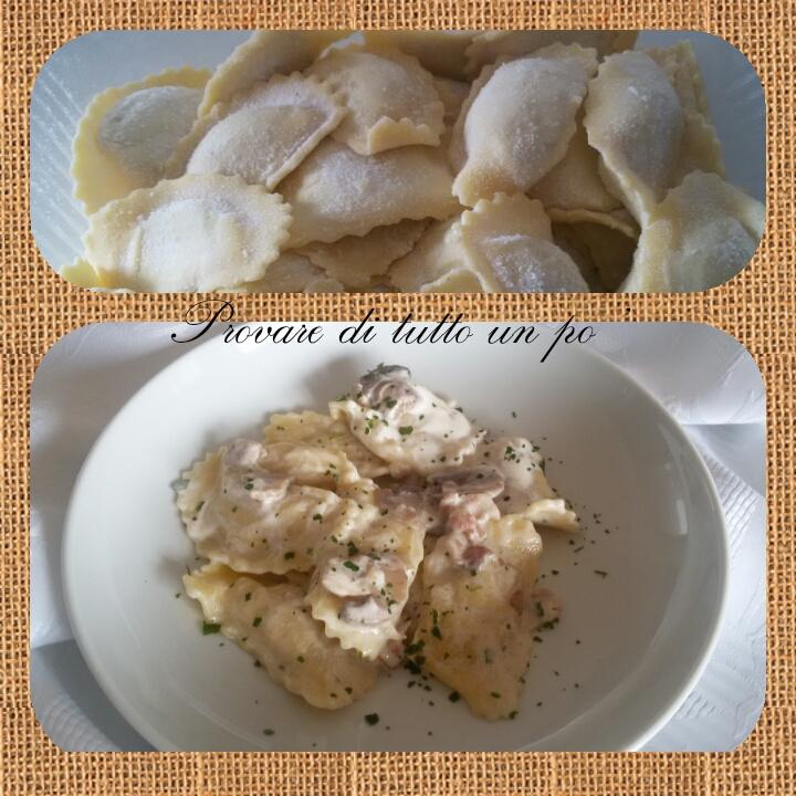 pasta fresca morena pansotti ai funghi