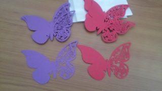 farfalle segnaposto