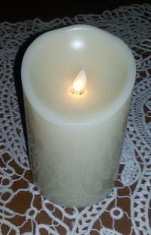 Magica candela a led