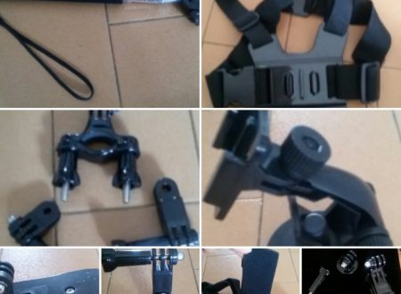 Kit di accessori per GoPro