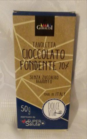 cioccolato fondente dolce vita