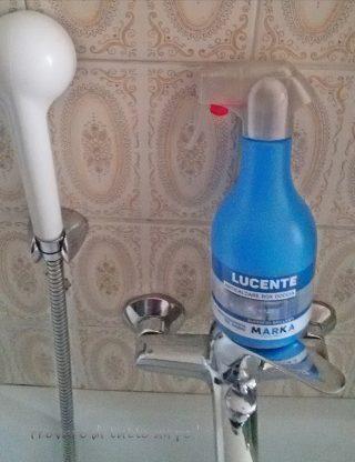 lucente detersivo anticalcare box doccia marka