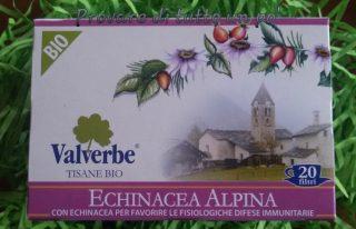tisana bio valverbe echinacea alpina