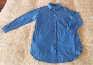 camicia lunga casual