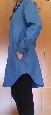 camicia lunga casual zanzea