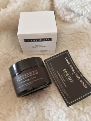 The Escential Co. Retinol Night Cream