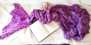 coperta sirena, mermaid blanket