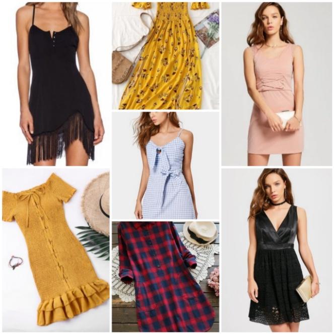 vestiti primavera estate, abiti, zaful