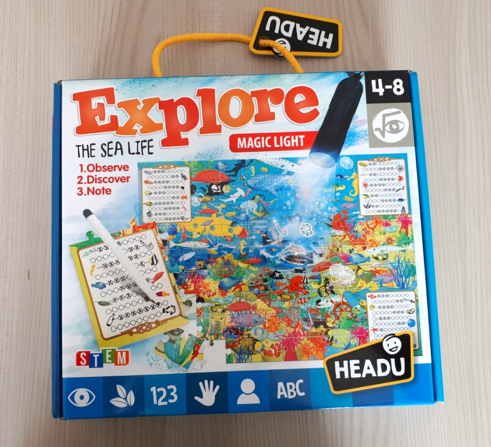 explore the sea life, gioco educativo headu