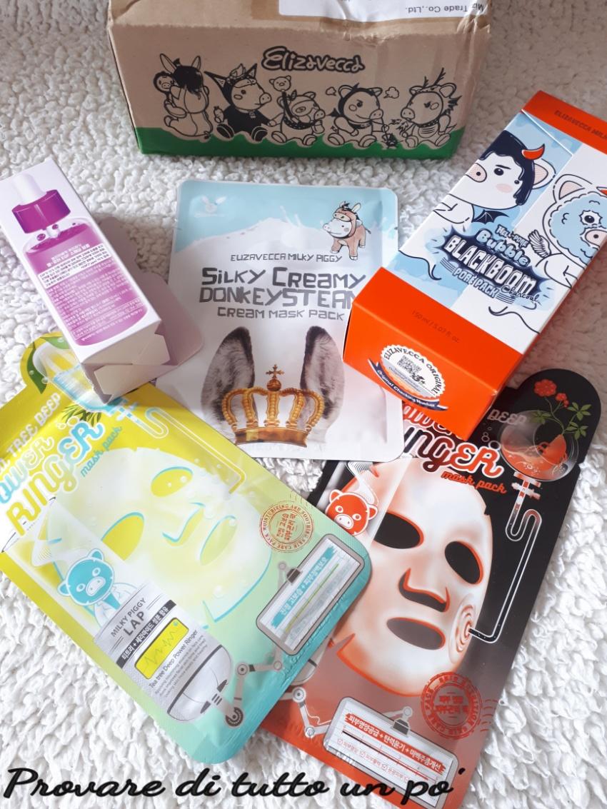 elizavecca, cosmetici coreani