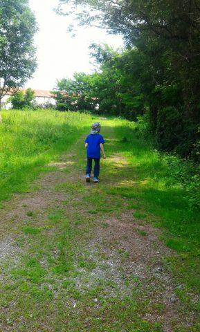 passeggiate con bambini