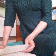cambio dell'armadio, mini abito in maglia, manzara