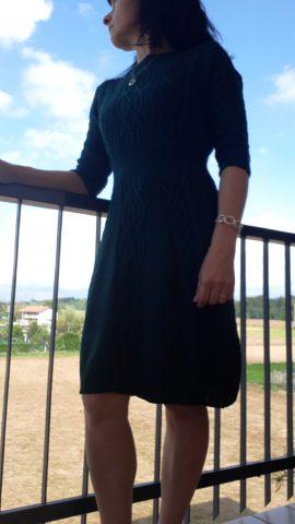 abito in maglia, cambio dell'armadio