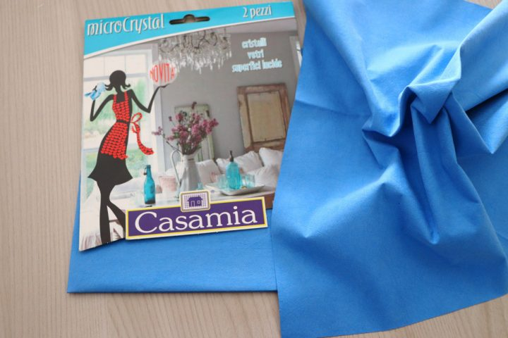 Panni Microcrystal casamia, panni vetro