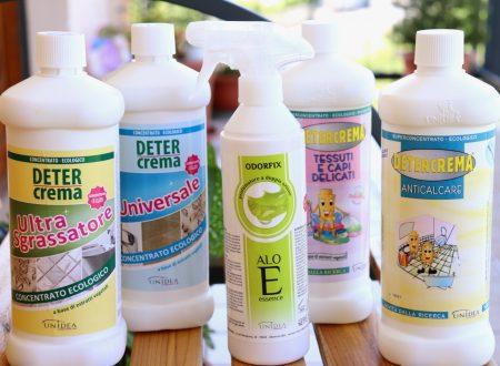 Casa pulita e profumata con i prodotti ecologici UNIDEA Scracchio