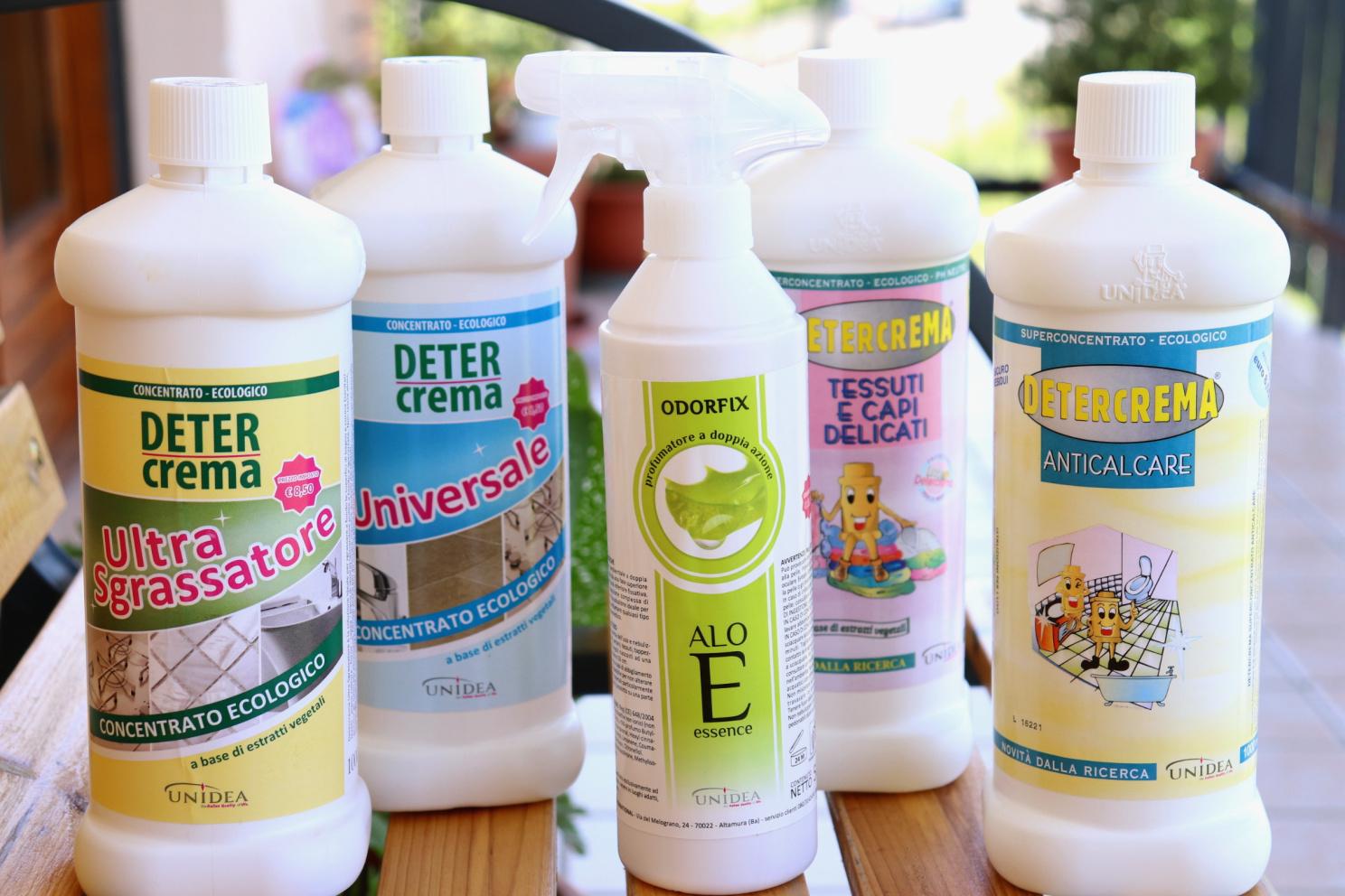 casa pulita e profumata con prodotti edologici, Unidea Scracchio