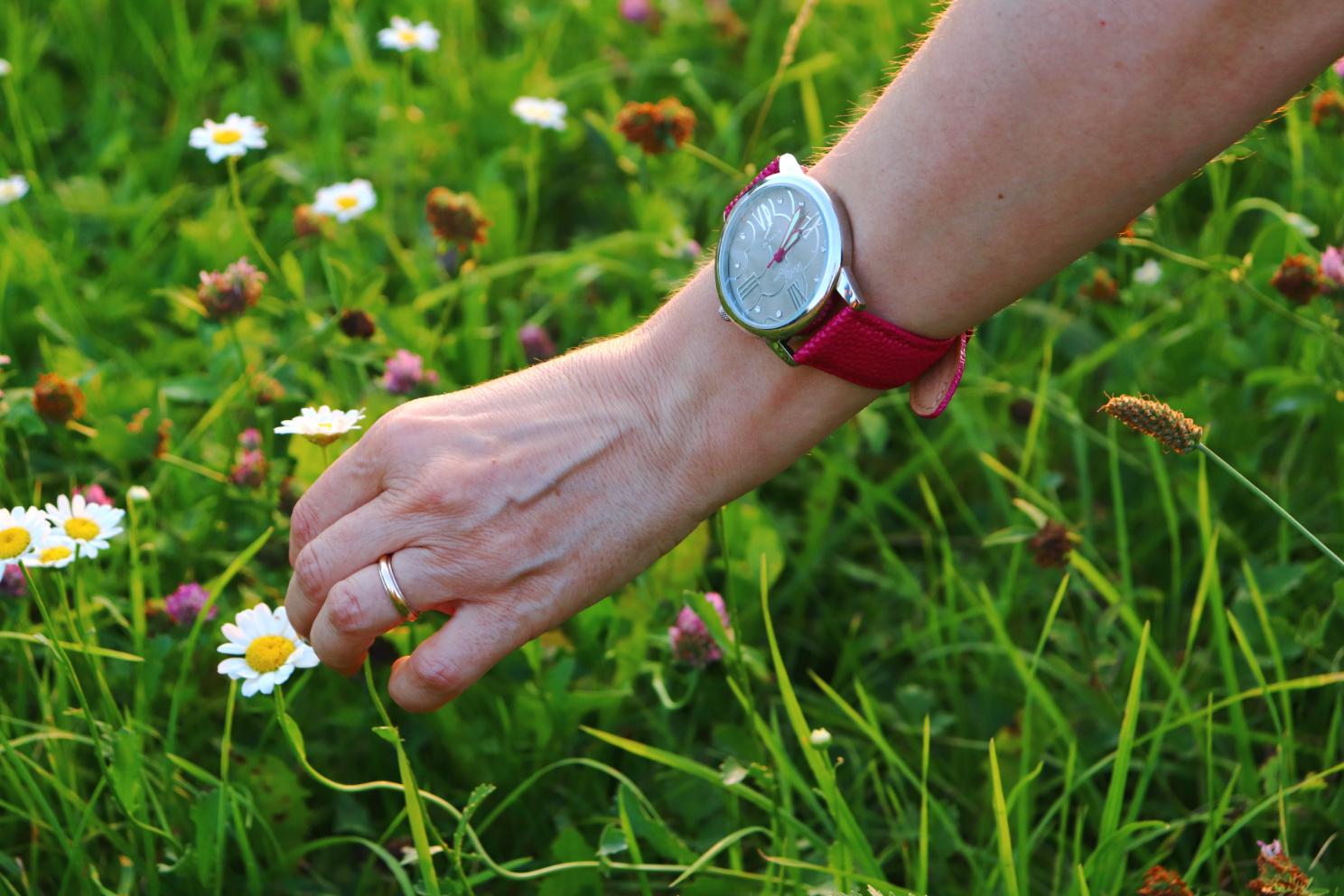 orologio da polso da donna, otto wetzmann