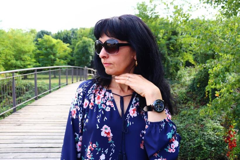 orologio elegante da donna con brillantini