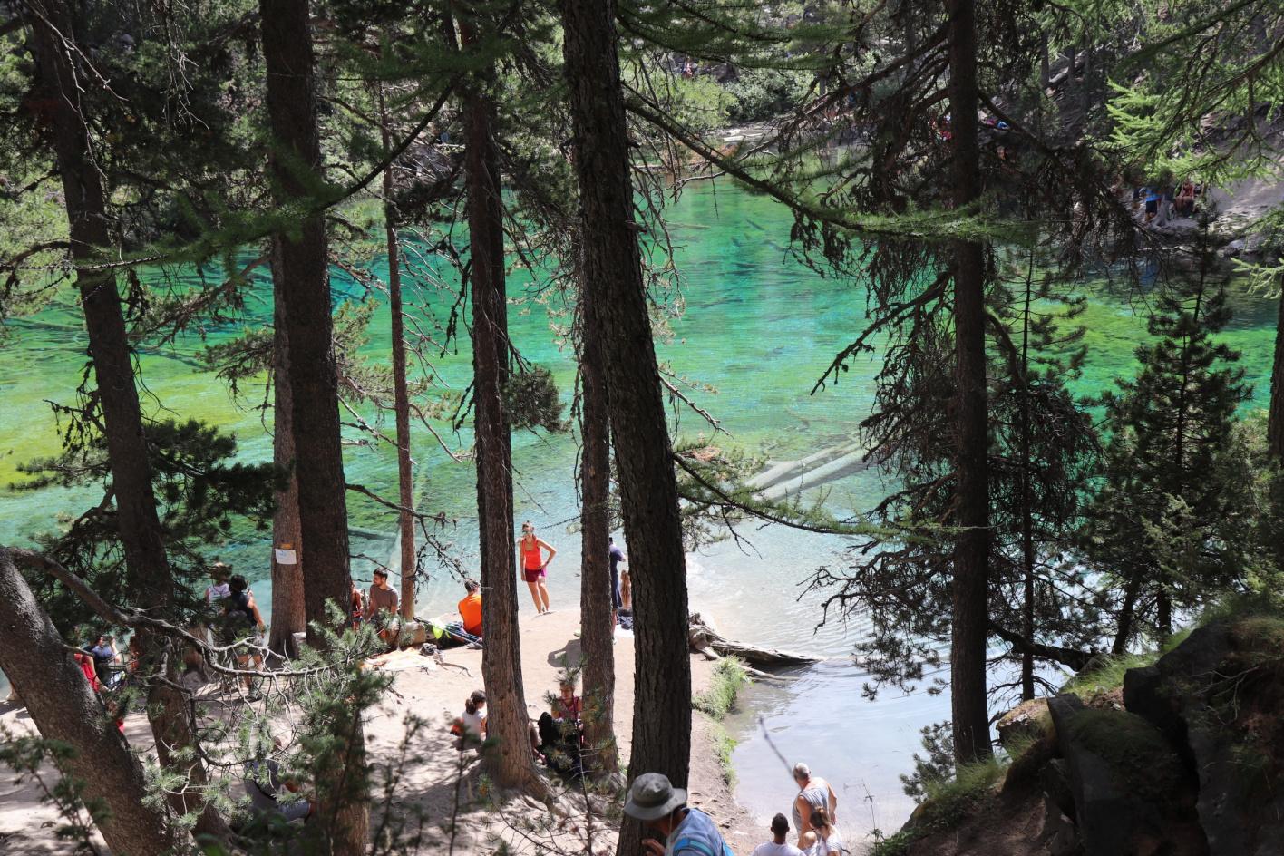 lago verde prali, lac vert nevachè