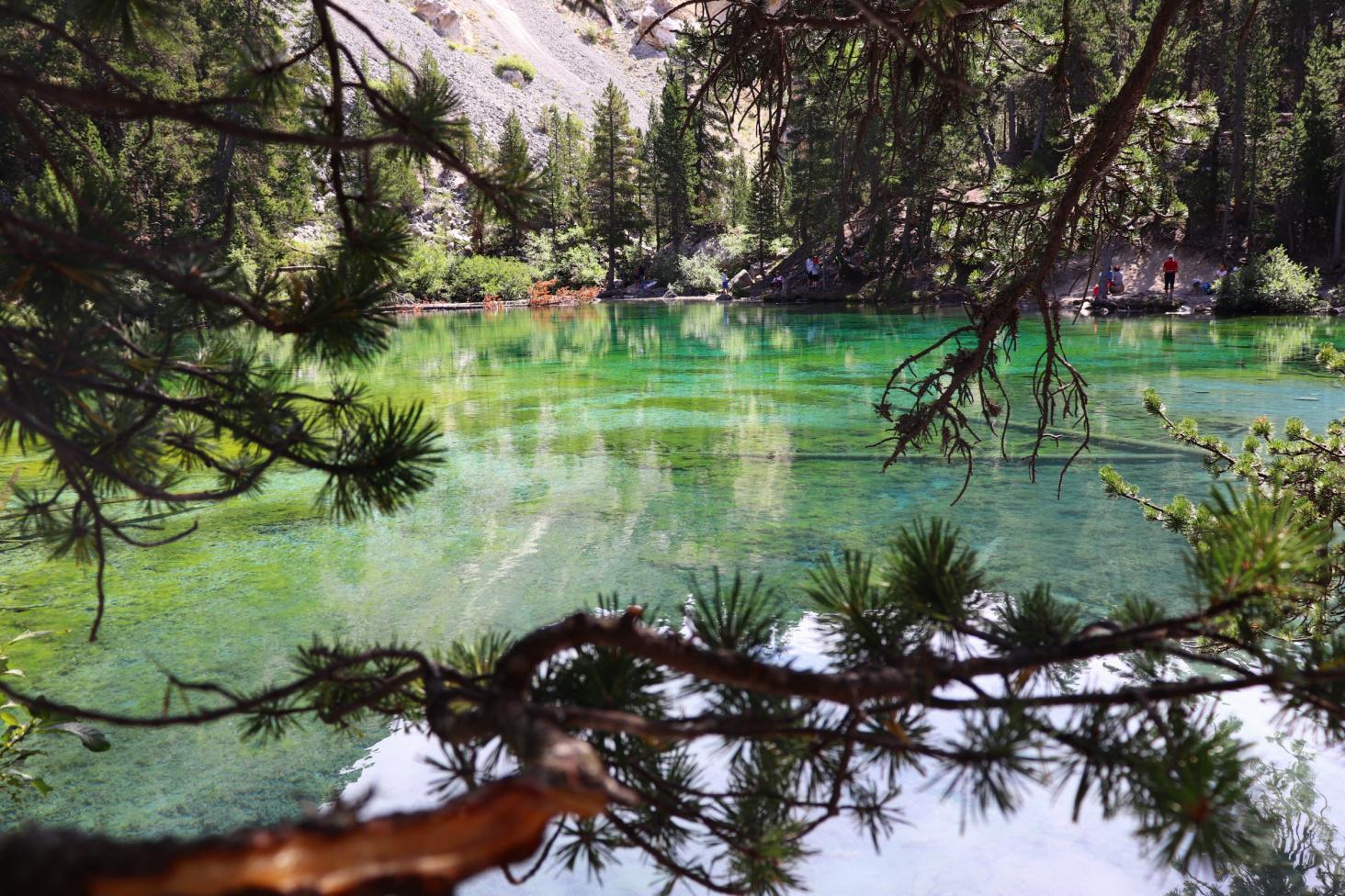 lago verde nevachè, lac vert