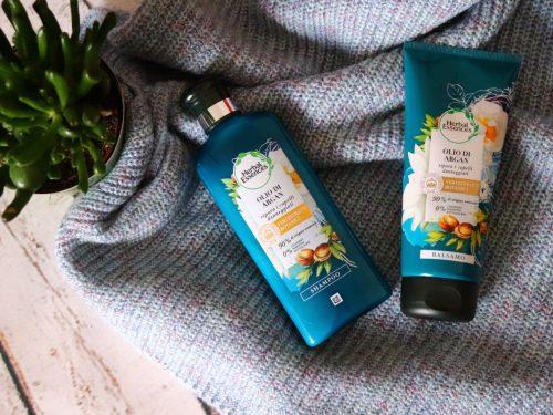 Herbal Essences Olio di Argan la nuova linea per capelli secchi e rovinati