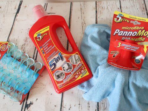SUPERFIVE per una casa pulita senza fatica