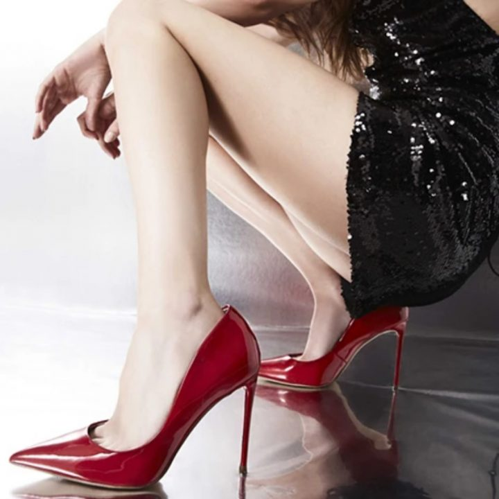 scarpe rosse tacco alto