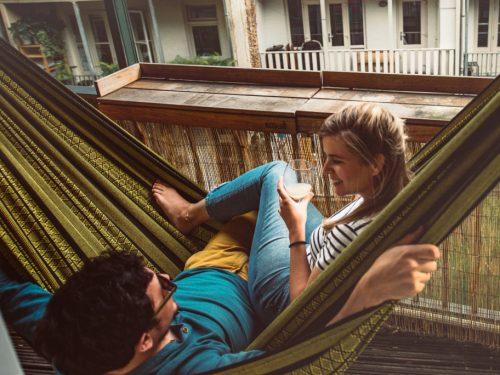 L'amaca – il modo perfetto per rilassare corpo e mente