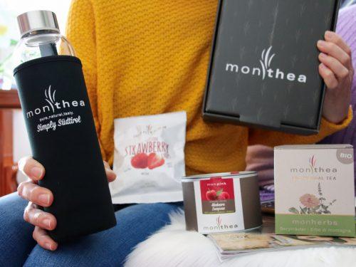 Momento relax con il tè e gli infusi biologici Monthea