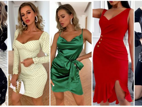 Sexy dresses to celebrate Valentine's Day