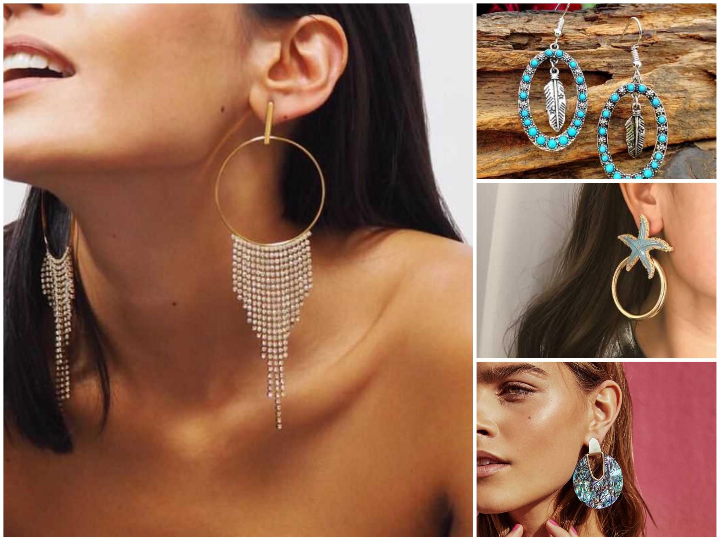Bohemian Earrings dazzle luna