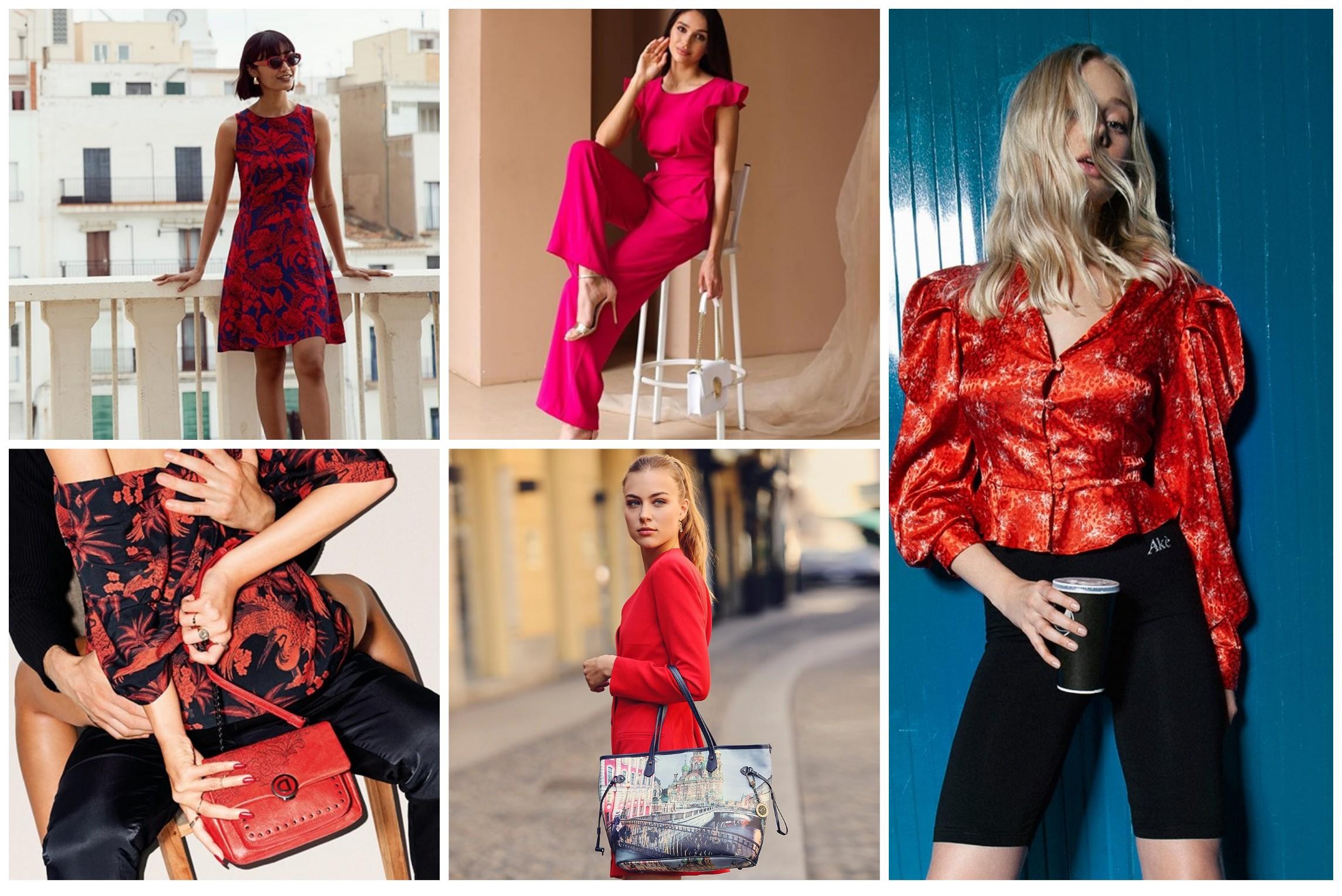 colori che fanno bene all'umore, vestire di rosso
