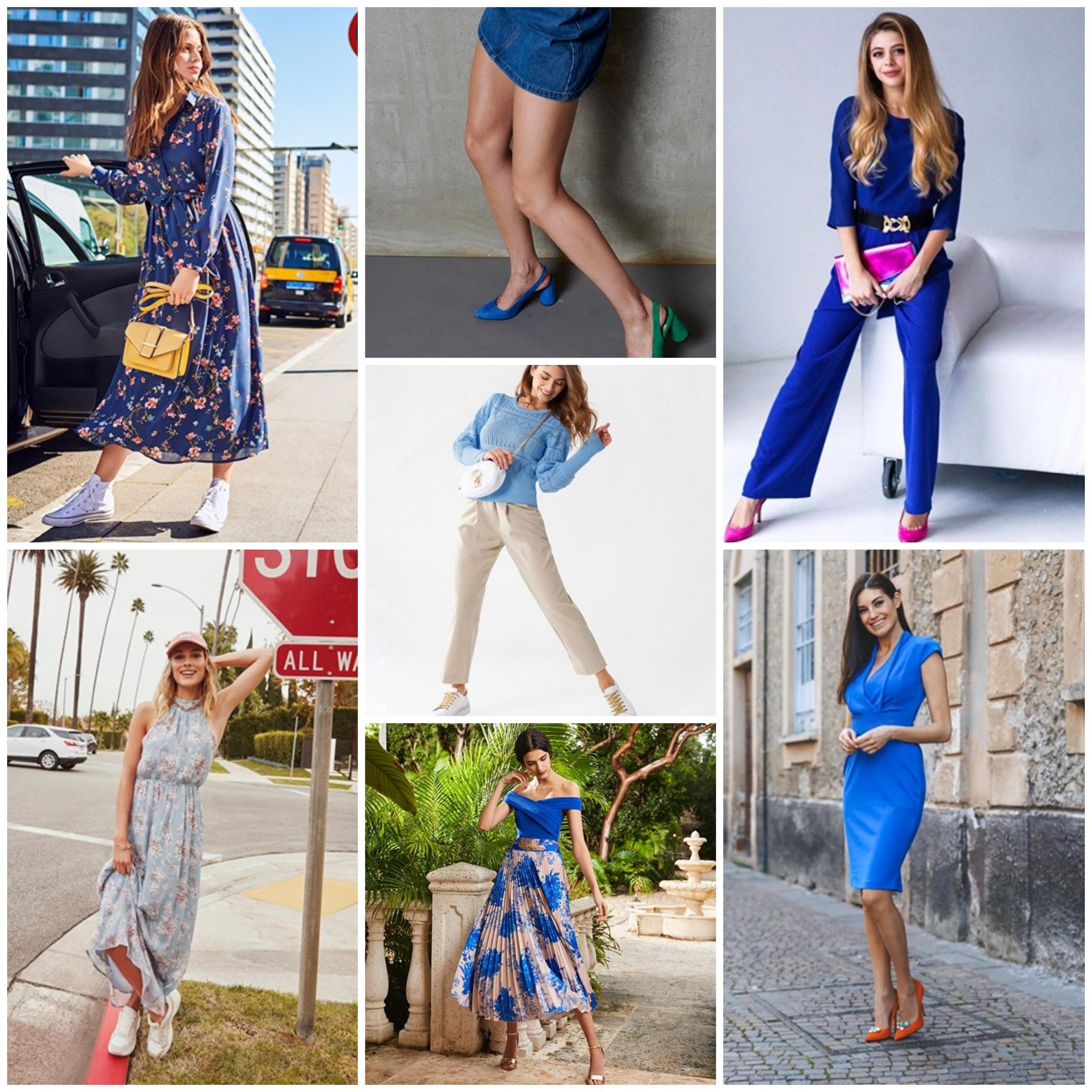 colori che fanno bene all'umore, vestire di blu