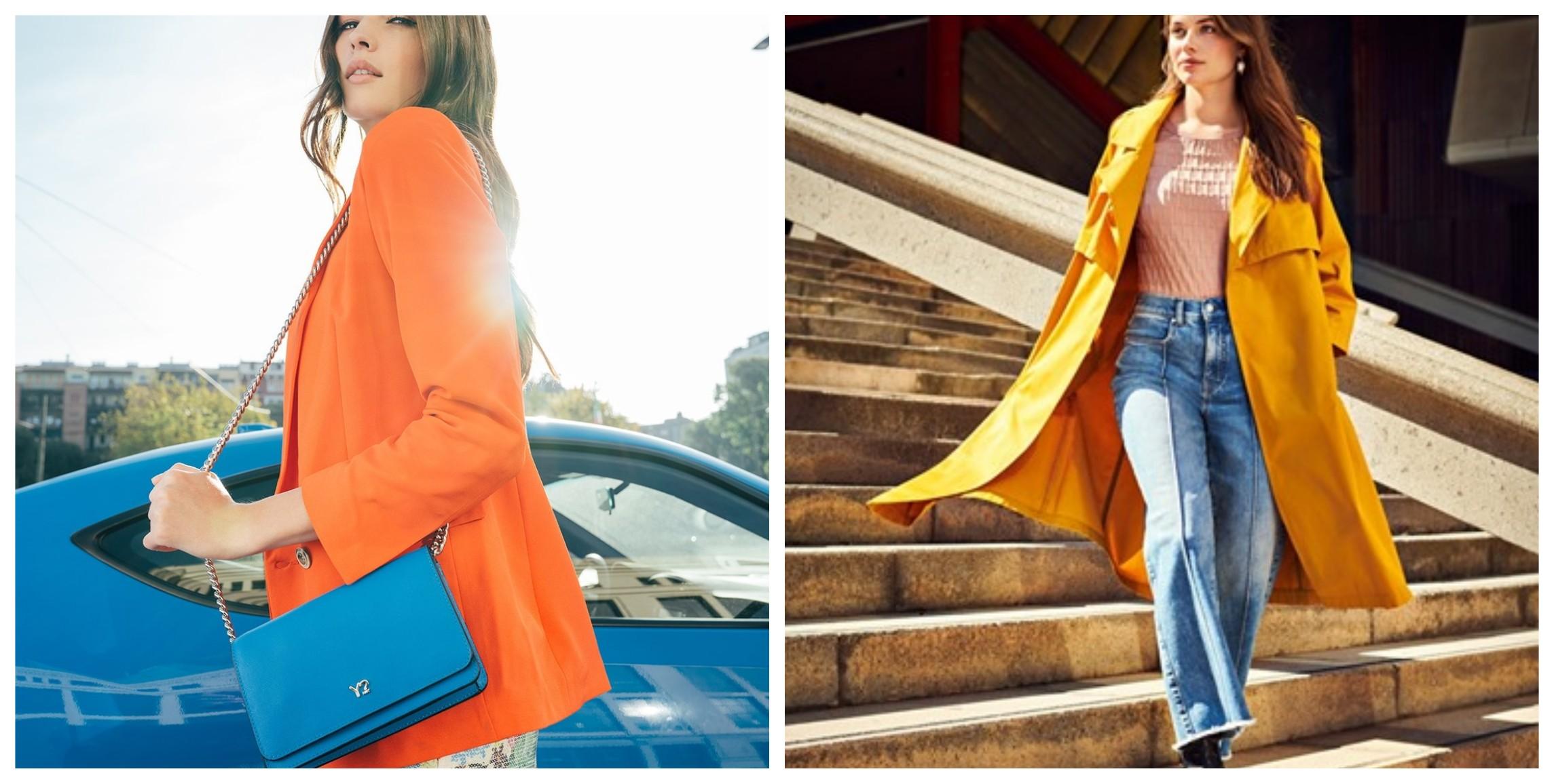 vestire arancione